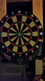 dart board and darts in Elgin, Illinois