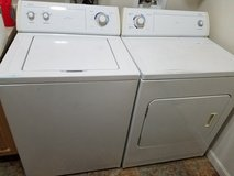 Whirlpool washer and dryer in Tacoma, Washington