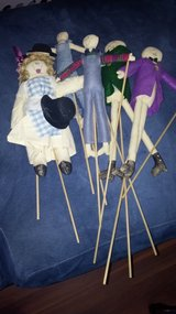 Puppet set. 5 figurines easy to use in 29 Palms, California