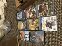 Ps2 and PS3  games in Fort Leonard Wood, Missouri