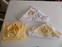 3 baby hooded towels in Fort Drum, New York