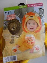 12-18 months Lion Halloween Costume in Fort Drum, New York