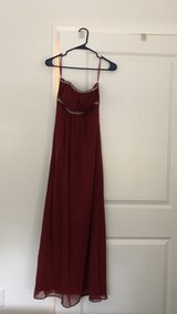 long maroon formal gown in Vista, California
