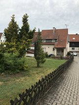 Kindsbach, small house, partly furnished, with yard in Ramstein, Germany
