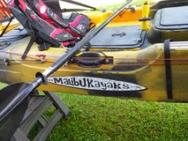 14.6 foot X Factor Malibu Anglers kayak in Okinawa, Japan