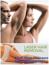 Underarms hair removal in Okinawa, Japan