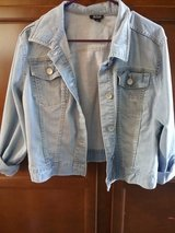 Ana denim jacket distressed sz XL in Fort Campbell, Kentucky
