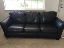 brown leather couch in Travis AFB, California
