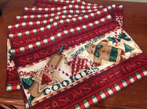 NEW Christmas placemats (6) in Travis AFB, California