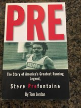 PRE-the story of Americas greatest running legend in Oswego, Illinois