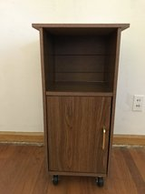 Small Shelving unit w/ wheels in Belleville, Illinois