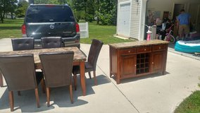 Granite table and hutch in Fort Lee, Virginia