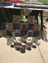 Metal Wall Art/Candle Holder in Naperville, Illinois