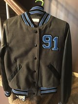 Letter style jacket in Fort Campbell, Kentucky