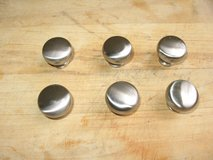 6 cabinet knobs/ Brushed Nickel in Oceanside, California
