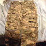 CAMOFLAUGE CARGO PANTS in Travis AFB, California