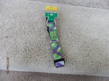 Size M Purple and Green Dog Collar Brand New in Shorewood, Illinois