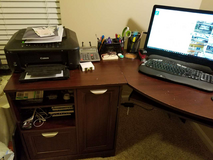 Office desk in Fort Gordon, Georgia