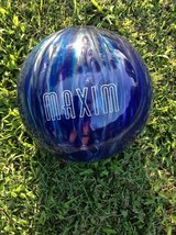Brand new ebonite maxim bowling ball no holes around 12.3 lbs in Fort Campbell, Kentucky
