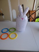 Inflatable bunny ring toss game in Watertown, New York