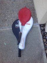 Three Tennis Rackets in Vacaville, California