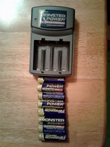 Monster Power Rechargeable Batteries & Charger in Sugar Grove, Illinois