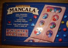 WOODEN MANCALA GAME + TIN CASE in Quantico, Virginia