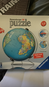 3D Globe Puzzle in Fort Campbell, Kentucky