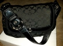 Black authentic Coach purse in Camp Lejeune, North Carolina