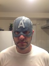 Captain America Adult size Cosplay Helmet/Mask New in Okinawa, Japan