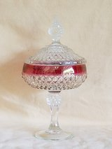 Vintage Indiana Glass with Ruby Band in Camp Lejeune, North Carolina