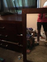 6 drawer hard wooden nice dresser with mirror in Fort Campbell, Kentucky