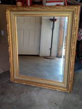 Gold mirror in Fort Campbell, Kentucky