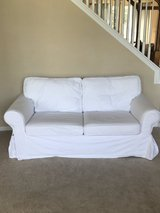 White loveseat in Baytown, Texas