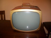 1957 Portable Television. Setchell Carlson This is how it was 60 years ago! in Naperville, Illinois