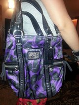 authentic Coach purse with shoulder strap in Sandwich, Illinois