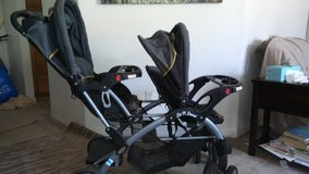 Sit and stand double stroller by baby trends in Oceanside, California