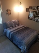 Full Size Bed, bedding included in Bolling AFB, DC