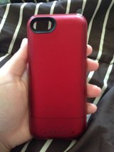 iPhone 5/5s Red Charger Case in Fort Polk, Louisiana