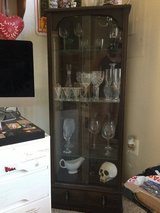 ANTIQUE glass & wood display case in Bolling AFB, DC