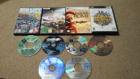 PC game lot in Fort Campbell, Kentucky