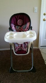 Baby trend high-chair in Lawton, Oklahoma