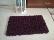 small dark purple carpet in Baumholder, GE