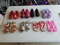 Size 11 kids shoes 8 pairs in Watertown, New York