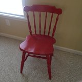 Fun Red Chair in Camp Lejeune, North Carolina