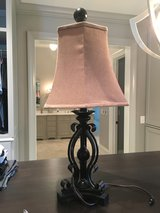 Solid Wrought Iron Lamp in Chicago, Illinois