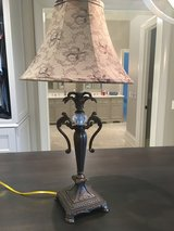 Brown lamp and shade- with acrylic ball in center- Beautiful in Chicago, Illinois