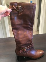 Franco Sarto Brown Boots- Patriot Riding Boots. Size 9.5 (I wear a 10 but these fit me). ONLY WO... in Naperville, Illinois