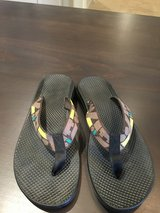 Women's Vibram Flip Flops- Wore Once. Size 10  COMFORTABLE in Naperville, Illinois