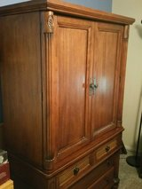Oak Tv armoire in Yucca Valley, California